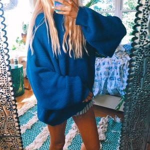Sweaters - hailey chunky patchwork oversized sweater